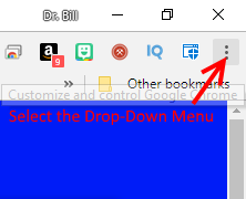 Select Drop-Down Menu