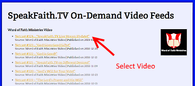 Select Video